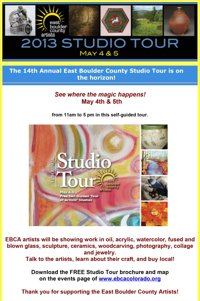 Follow the Sun for Light and Beauty! 14th Annual EBCA Studio Tou